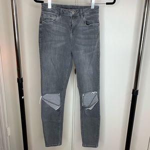TOPSHOP Grey Denim Jeans